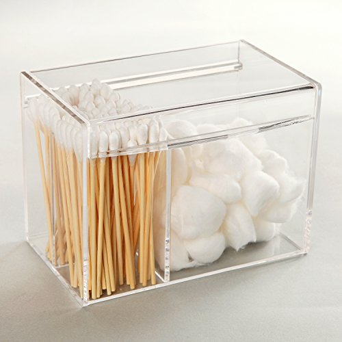 Deluxe Clear Acrylic Multi Purpose Makeup Case Jewelry Organizer Office Supplies Holder Storage Box